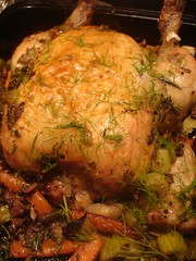 You can take the stuffing out the the roast