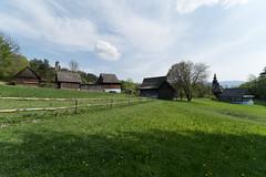 Zamek i skansen w Starej Ľubovni - Słowacja