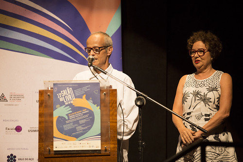 Léo Piló e Cibele Teixeira