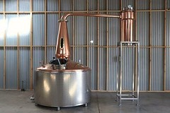 2200 litre Copper Still with stainless steel insulated barrel, with 12 x electric elements. Installed by Mark in Adelaide on Christmas Eve 2017.