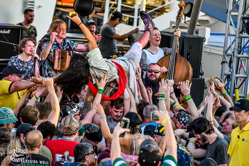 Salty Dog Cruise 2018:Skinny Lister