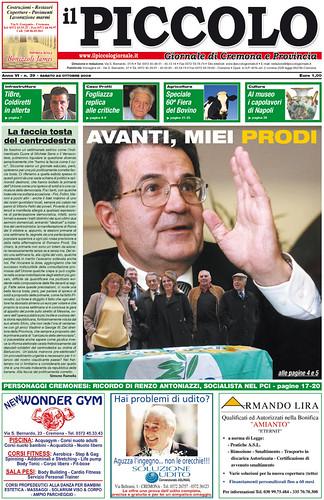 Avanti, miei Prodi