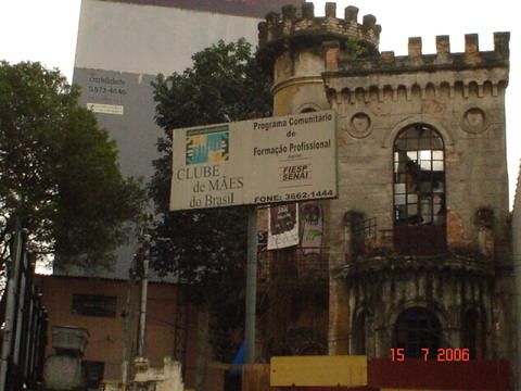 Castelinho da Rua Apa, cidade de São Paulo, SP, Brasil