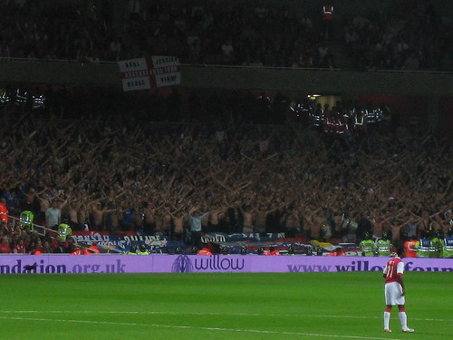 Zagreb Fans Going Mad