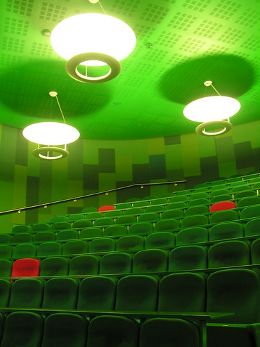 Lecture hall at Queen Mary College