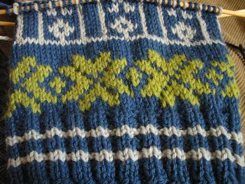 I'm so addicted to stranded knitting!