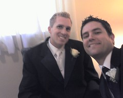 Pictures from Andy and Val's wedding