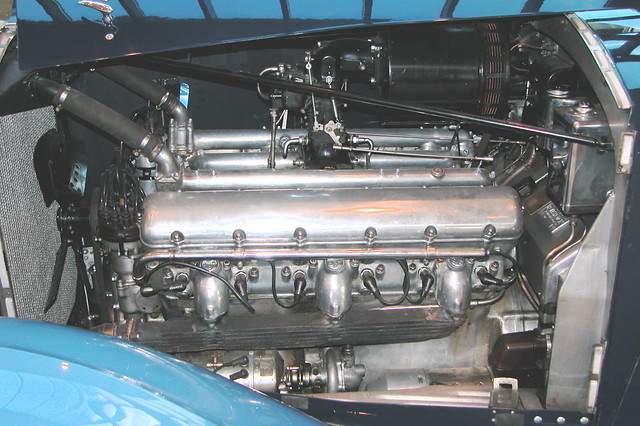 1937 RollsRoyce Phantom III  Engine block  Flickr