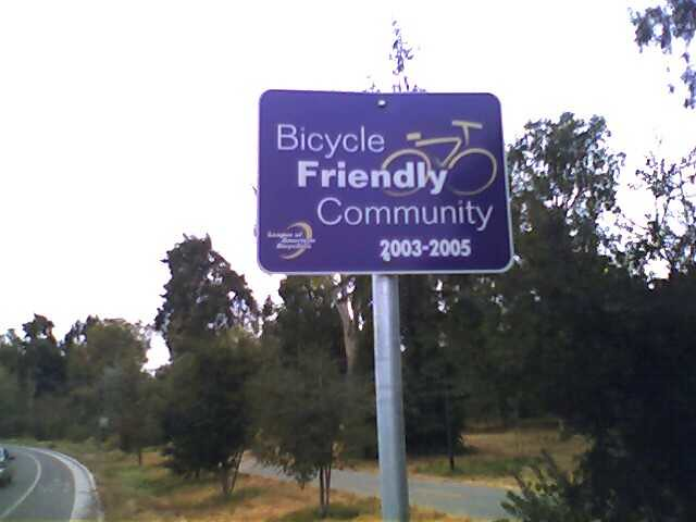 An Ironic Sign This Sign Is Just Down The Road From
