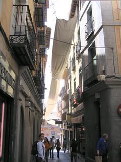 Street scene in Toledo, Spain
