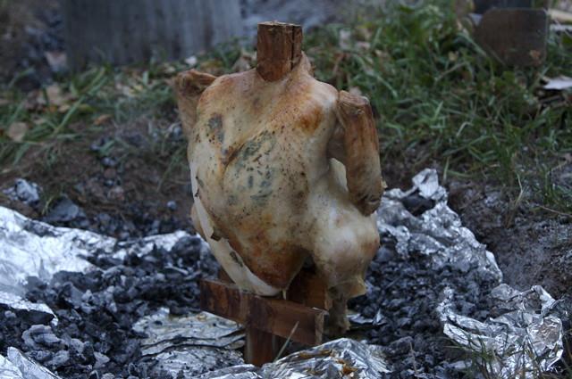 garbage can turkey revealed