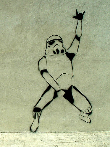 Storm Trooper Gets Down