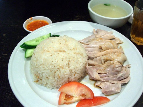 Hainanese Chicken Rice - Singapore Chom Chom