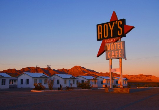 Roy's Motel and Cafe - Amboy, California U.S.A. - November 29, 2006