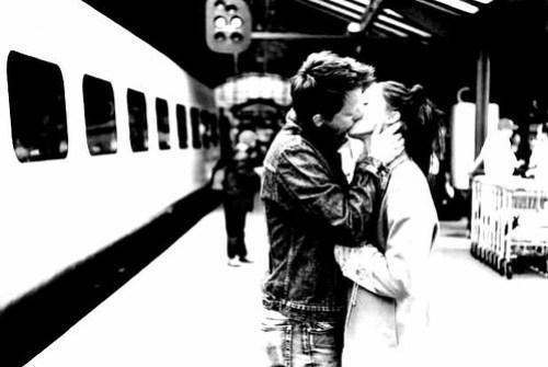 Candid Station Kiss