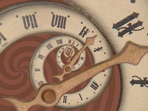Surreal Clock Spiral