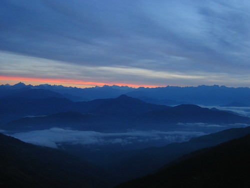 Dawn Over The Himalayas