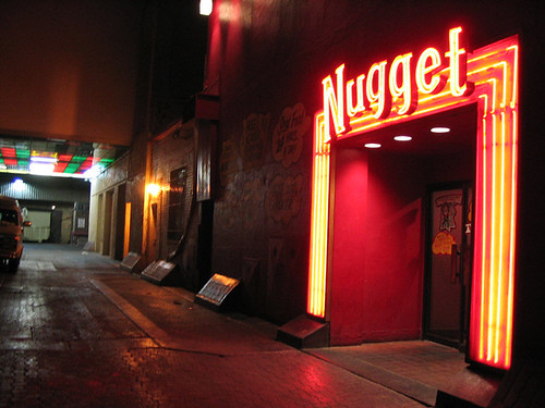 Alley Entrance to the Nugget