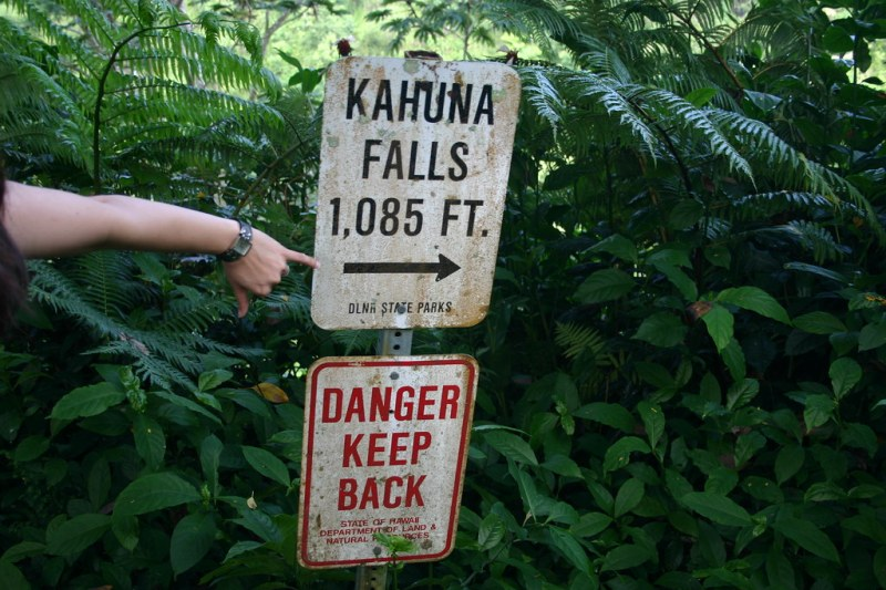 kahuna falls was a letdown