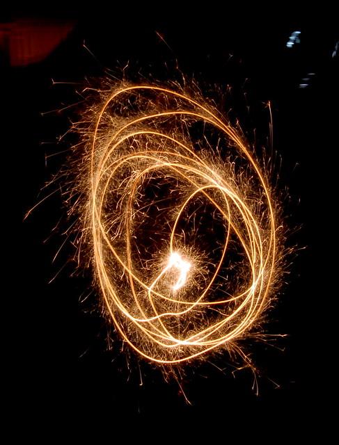 sparkler swirl