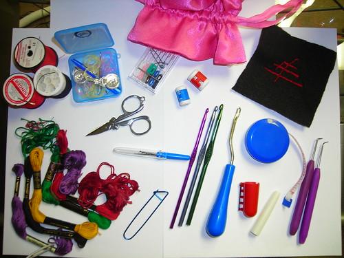 knitting/sewing purse