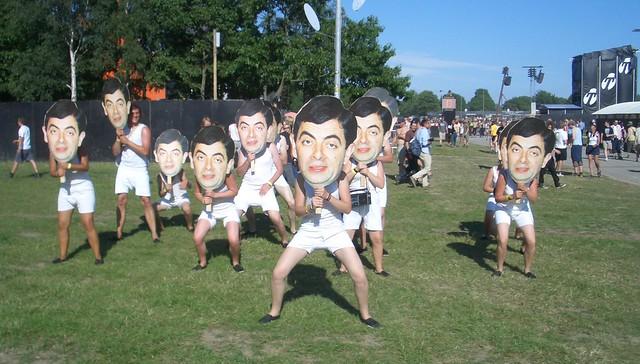 Crazy Mr.Bean Dance!
