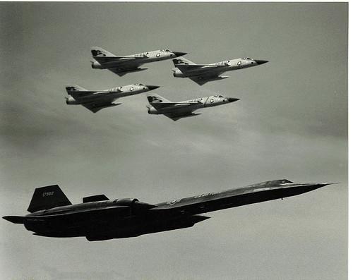SR-71 & F-106s
