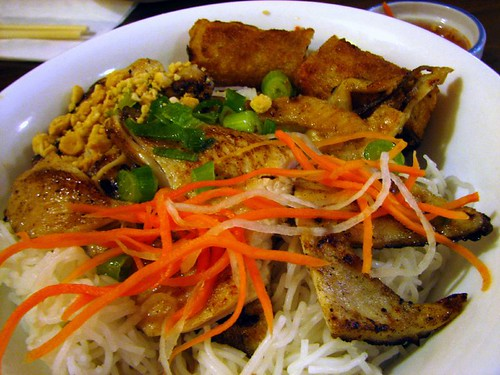 #31 - Grilled Chicken, Spring Roll on Vermicelli