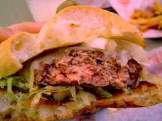 eaten burger