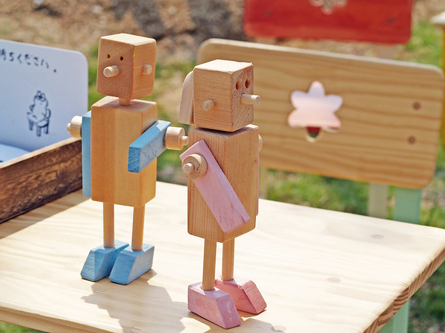 woodwork couple