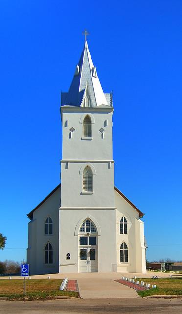 Immaculate Conception Catholic Church Panna Maria Texas
