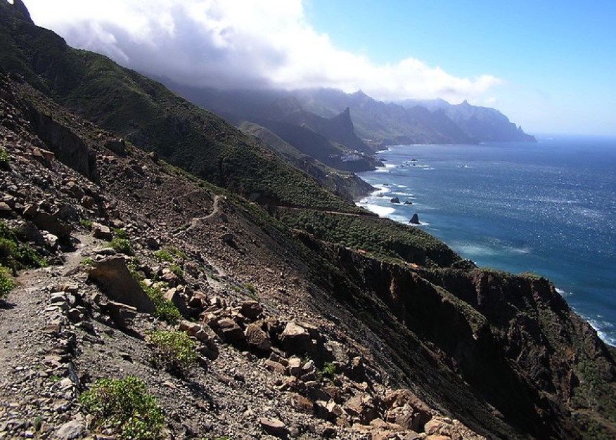 09 Chamorga faro Anaga Taganana Tenerife Islas Canarias senderismo