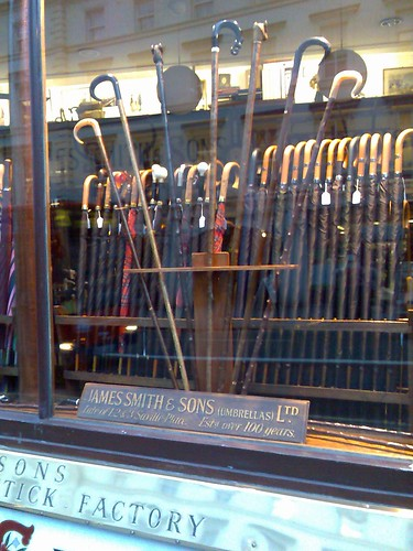 James Smith and Sons - umbrella shop