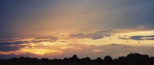 backyard sunset by jayfherron