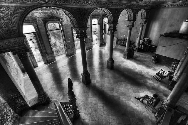 The second floor under the restaurant. La Habana, Cuba.