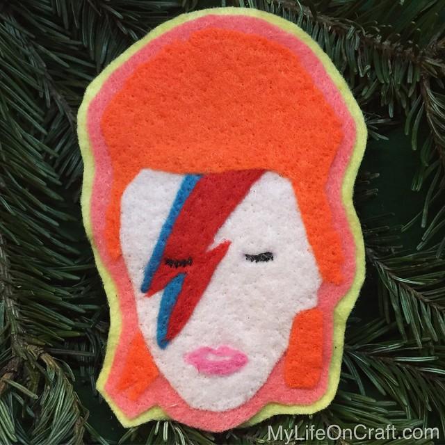 Ziggy Stardust Ornament