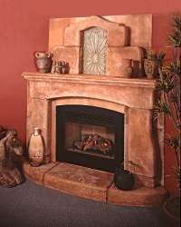 Mexican style fireplace | Flickr - Photo Sharing!