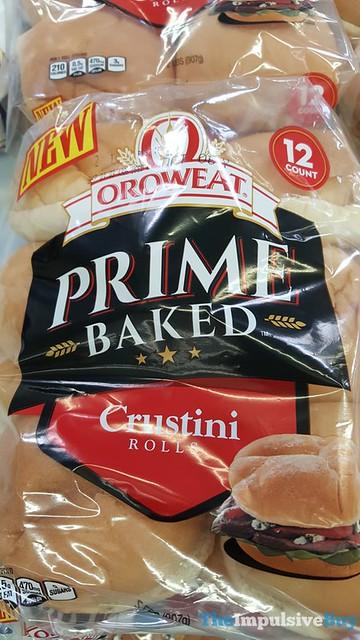 Oroweat Prime Baked Crustini Rolls