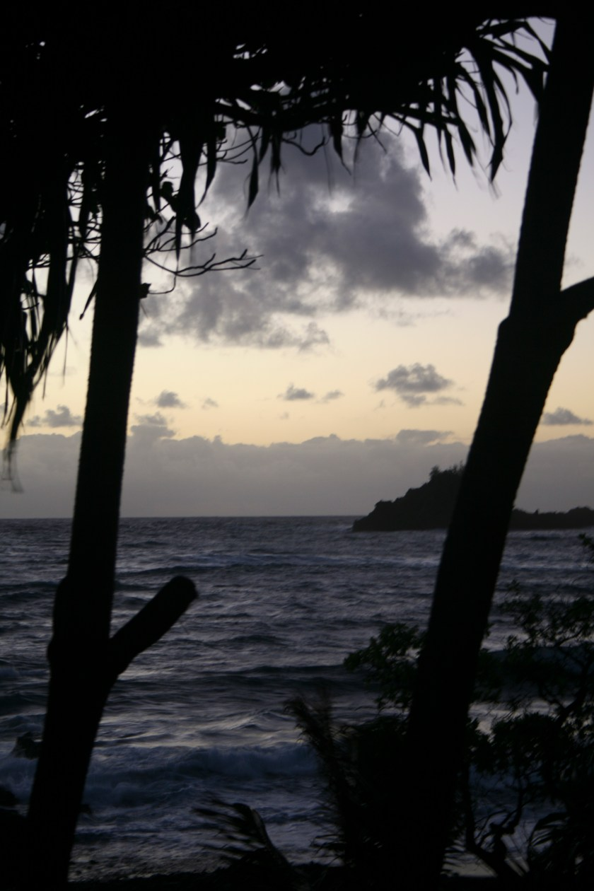 Sunrise in Hana