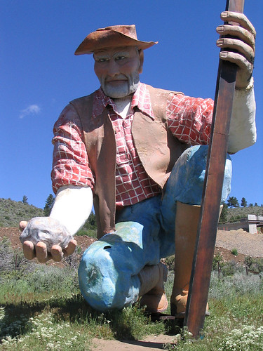 Scary candy prospector