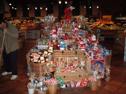 Fresh Market's Christmas Display, 2004
