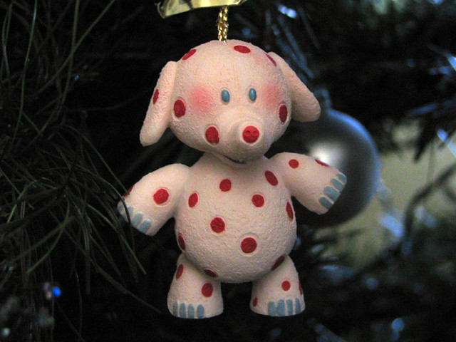 Spotted Elephant  Christmas ornament from Rudolph and the