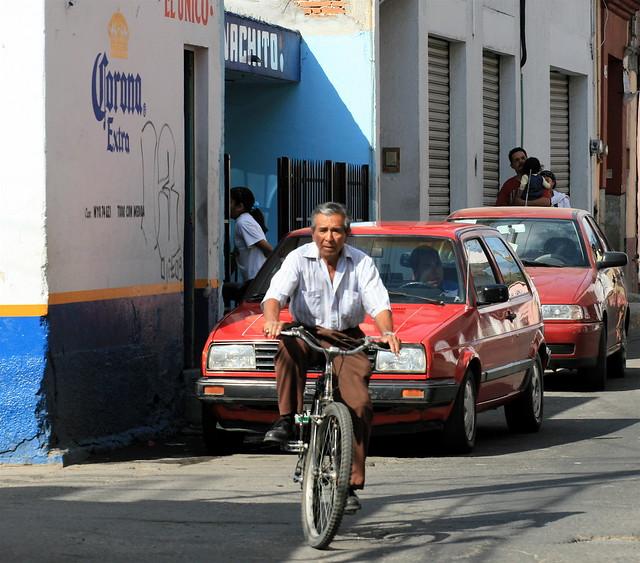 Oaxaca cyclist