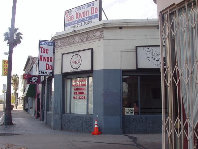 Cobra Kai Dojo Karate Kid LosAngeles Movie Location