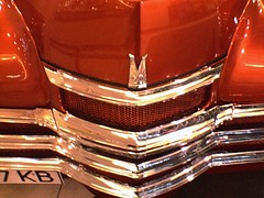 Chrome on caramel
