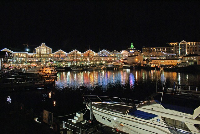 Cape Town Waterfront at Night  Flickr  Photo Sharing