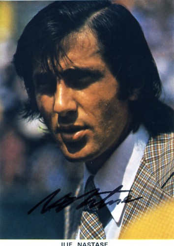 "Ilie NASTASE ""NASTY"" B 1946 Romanian Tennis Champion"