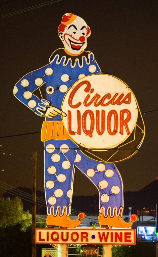 Circus Liquor - 5600 Vineland Avenue, North Hollywood, California U.S.A. - December 24, 2006