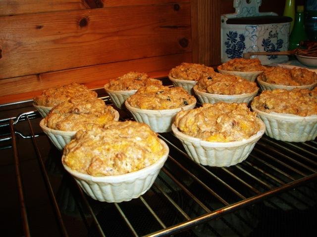 Muffins aboboras EUA