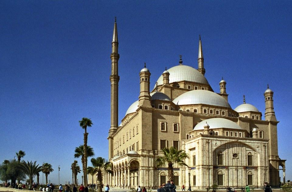 El Cairo exterior Mezquita de Mehmet Alí Pasha o de Alabastro Egipto 02